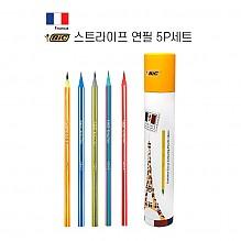 [BIC] 빅 스트라이프 연필 5P 세트