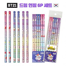 BT21 드림 연필 6P 세트